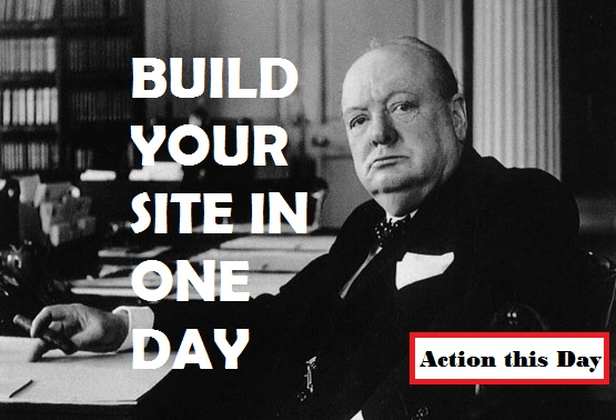 Get your website fast with Website-in-a-Day